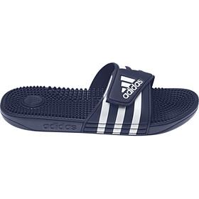 adidas Adissage Slides Men, dark blue/ftwr white/dark blue